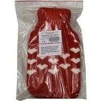 Wärmflasche Baby 1L mit Rollkragen Pullover Bezug, 1 ST, Careliv Produkte Ohg