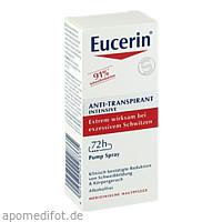 Eucerin Deodorant Antitranspirant Spray 72h, 30 ML, Beiersdorf AG Eucerin