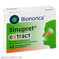 Sinupret extract, 40 ST, Bionorica Se