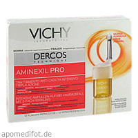 Vichy Dercos Aminexil Pro Frauen Amp., 12X6 ML, L'oreal Deutschland GmbH