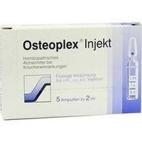 Osteoplex Injekt, 5 ST, Steierl-Pharma GmbH