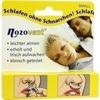 Nozovent Small Nasenklammern, 2 ST, Optima Pharmazeutische GmbH