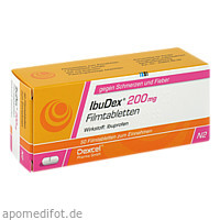 IbuDex 200mg, 50 ST, Dexcel Pharma GmbH