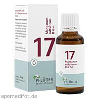 Biochemie Pflüger NR. 17 Manganum sulf. D 6, 30 ML, Homöopathisches Laboratorium Alexander Pflüger GmbH & Co. KG