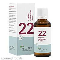 Biochemie Pflüger NR. 22 Calcium carb. D 6, 30 ML, Homöopathisches Laboratorium Alexander Pflüger GmbH & Co. KG