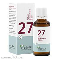Biochemie Pflüger NR. 27 Kalium bichrom. D 6, 30 ML, Homöopathisches Laboratorium Alexander Pflüger GmbH & Co. KG