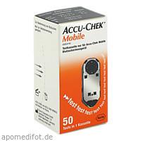 ACCU-CHEK Mobile Testkassette, 50 ST, kohlpharma GmbH