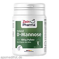 Natural D-Mannose Powder, 100 G, Zein Pharma - Germany GmbH