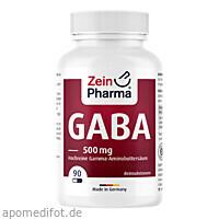 GABA Kapseln, 90 ST, Zein Pharma - Germany GmbH