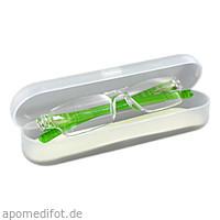 Lesebrille 3.0 dpt grün. unisex. + Hartschalenetui, 1 ST, Artemed Products GmbH