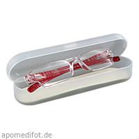 Lesebrille 2.0 dpt himbeer unisex +Hartschalenetui, 1 ST, Artemed Products GmbH