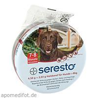 SERESTO Halsband f.große Hunde, 1 ST, Bayer Vital GmbH GB - Tiergesundheit