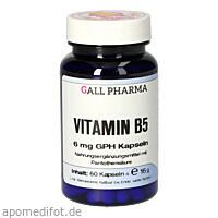 Vitamin B5 6 mg GPH Kapseln, 60 ST, Hecht-Pharma GmbH