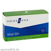 Vital 50+ MensSana, 60 ST, MensSana AG