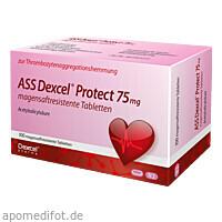 ASS Dexcel Protect 75mg, 100 ST, Dexcel Pharma GmbH