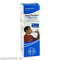 AeroChamber mit Mundstück für Erw. u. Kinder, 1 ST, HEXAL AG