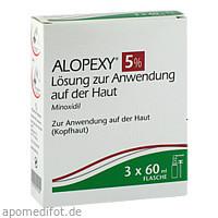 ALOPEXY 5% Lösung zur Anwendung auf der Haut, 3X60 ML, Pierre Fabre Pharma GmbH