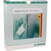 Askina Absorb+ 10x10cm, 10 ST, B. Braun Melsungen AG