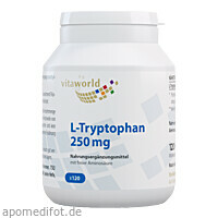 L-Tryptophan 250mg, 120 ST, Vita World GmbH