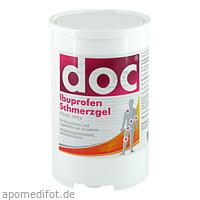 doc Ibuprofen Schmerzgel Spenderkartusche, 1 KG, Hermes Arzneimittel GmbH