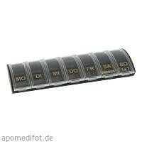 ANABOX 1x7 schwarz/gold, 1 ST, Wepa Apothekenbedarf GmbH & Co. KG