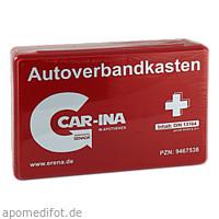 Senada CAR-INA Autoverbandkasten rot, 1 ST, Erena Verbandstoffe GmbH & Co. KG