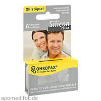 OHROPAX Silicon Clear, 6 ST, Ohropax GmbH
