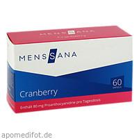 Cranberry MensSana, 60 ST, MensSana AG