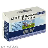 Multi für Schwangere+DHA MensSana, 60 ST, MensSana AG