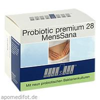Probiotic premium 28 MensSana, 28X2 G, MensSana AG