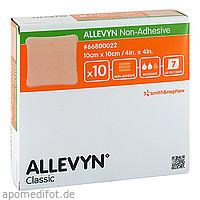 ALLEVYN non Adhesive 10x10cm Kompressen, 10 ST, Aca Müller/Adag Pharma AG