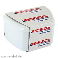 Gebissbox Scharnierdeckel f.Zahnproth.Lactona, 1 ST, Megadent Deflogrip Gerhard Reeg GmbH