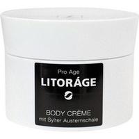 LITORAGE BODY CREME MIT SYLTER AUSTERNSCHALE, 200 ML, Inwater Biotec GmbH