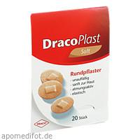 DracoPlast Soft hautf. rund 2.2cm, 20 ST, Dr. Ausbüttel & Co. GmbH