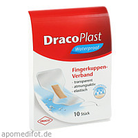 DracoPlast Waterproof Fingerkuppenpflaster, 10 ST, Dr. Ausbüttel & Co. GmbH