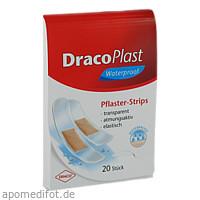 DracoPlast Waterproof Pflasterstrips sortiert, 20 ST, Dr. Ausbüttel & Co. GmbH