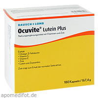 Ocuvite Lutein Plus, 180 ST, Dr. Gerhard Mann