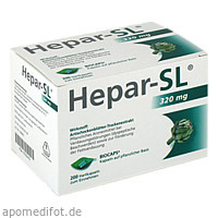 Hepar-SL 320mg Hartkapseln, 200 ST, MCM KLOSTERFRAU Vertr. GmbH