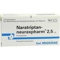 NARATRIPTAN-NEURAXPHARM 2.5mg, 2 ST, neuraxpharm Arzneimittel GmbH