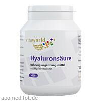 Hyaluronsäure 100mg, 100 ST, Vita World GmbH