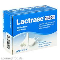 Lactrase 18000 FCC Kapseln, 40 ST, Pro Natura Gesellschaft Für Gesunde Ernährung mbH
