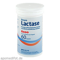 Lactase 6000 FCC, 60 ST, Pro Natura Gesellschaft Für Gesunde Ernährung mbH