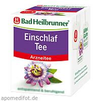 Bad Heilbrunner Einschlaf Tee, 8X2.0 G, Bad Heilbrunner Naturheilm. GmbH & Co. KG