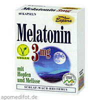 Melatonin 3mg, 60 ST, Espara GmbH