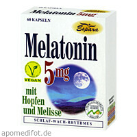 Melatonin 5mg, 60 ST, Espara GmbH