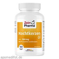 Nachtkerzenöl Kapseln, 180 ST, Zein Pharma - Germany GmbH