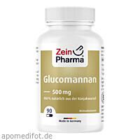 Glucomannan Sättigungskapseln, 90 ST, Zein Pharma - Germany GmbH
