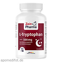 L-Tryptophan 500mg, 90 ST, Zein Pharma - Germany GmbH