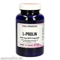 L-Prolin 500mg GPH Kapseln, 120 ST, Hecht-Pharma GmbH