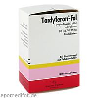 Tardyferon-Fol Depot-Eisen(II)-sulfat mit Folsäure, 100 ST, Pierre Fabre Pharma GmbH